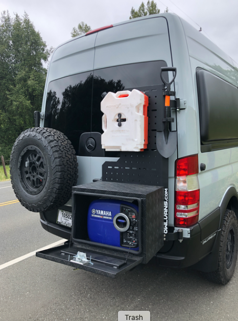 Sherpa Cargo Carrier for Sprinter