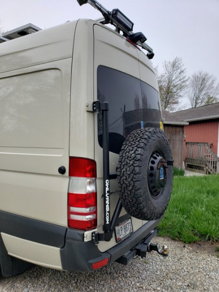 Sprinter Van Tire Carrier NCV3