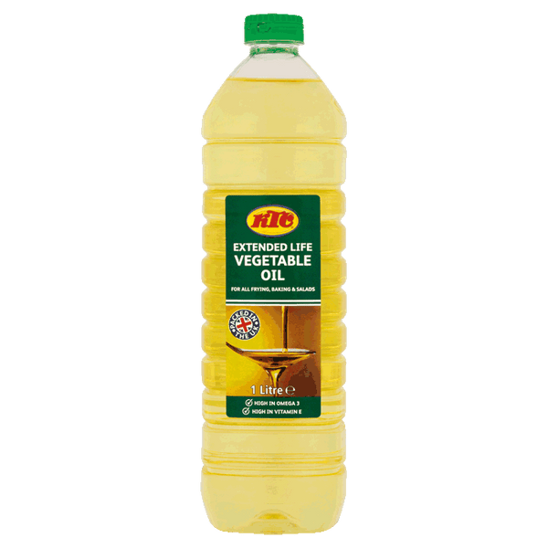 KTC Vegetable Frying Oil 1Lt