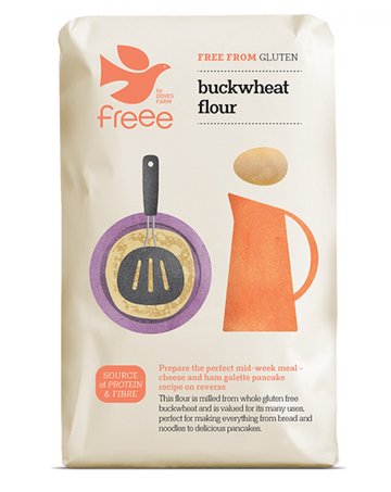 Gluten Free Wholegrain Buckwheat Flour