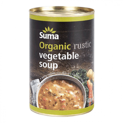 Organic Rustic Vegetable Soup 400g