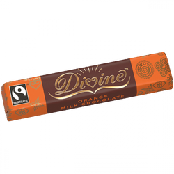 Divine Orange Milk Chocolate 35g