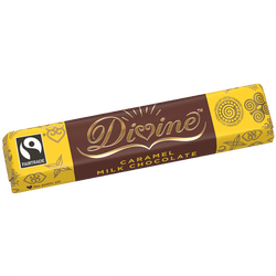 Divine Caramel Milk Chocolate 35g