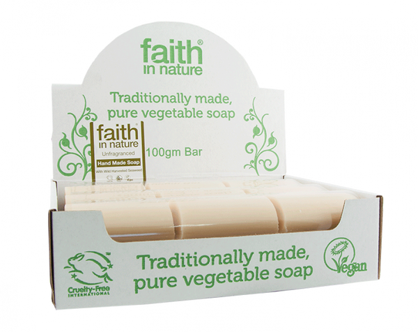 1 x Unwrapped Natural Unfragranced Soap 100G