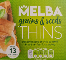 Melba Grains & Seeds Thins