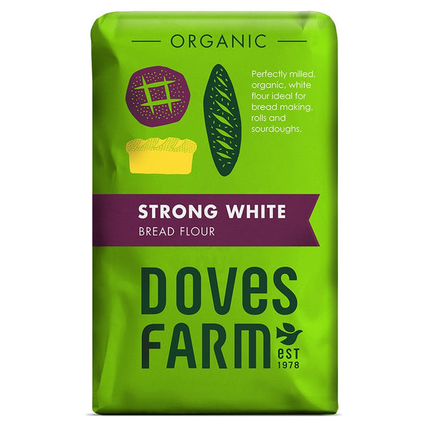 Organic Strong White Bread Flour