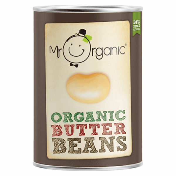 Mr Organic Giant White Beans 400g