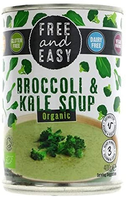 Free & Easy Organic Broccoli & Kale Soup 400g