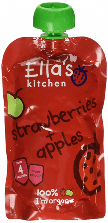 Ella's Strawberries and Apples 120g