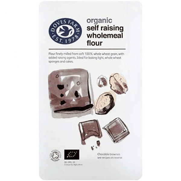 Organic Wholemeal Self Raising Fine Flour