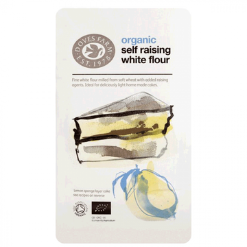 Organic White Self Raising Flour