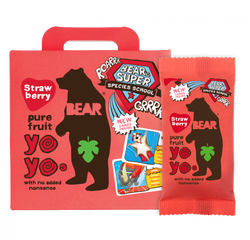 Yoyo Strawberry Fruit Rolls 5pk