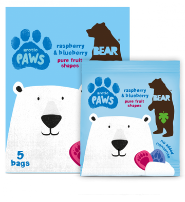 Single Pack Raspberry and Blueberry Paws 20g