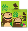 Single Pack Apple and Blackcurrant Paws 20g