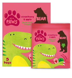 Single Pack Strawberry and Apple Paws 20g