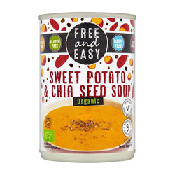 Free & Easy Organic Sweet Potato & Chia Seeds Soup 400g