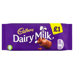 Cadbury Dairy Milk £1 Chocolate Bar 95g