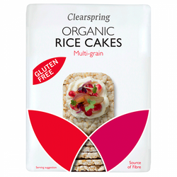 Organic Rice Cakes Multigrain Salted 130g