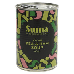 SUMA Vegan Pea and Ham Soup 400g