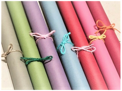 Coloured Recycled Wrapping Paper