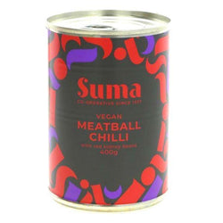 SUMA Vegan Meatballs and Chilli 400g
