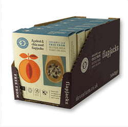 Doves Organic Multipack Apricot Oat Bar with Chia 4 x 35g