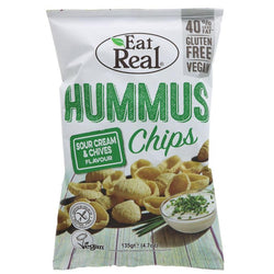 Eat Real Hummus Sour Cream Chips 135g