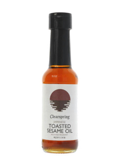 Clearspring Sesame Oil Toasted 150ml