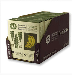 Doves Organic Multipack Banana Oat Bars with Hemp 4 x 35g