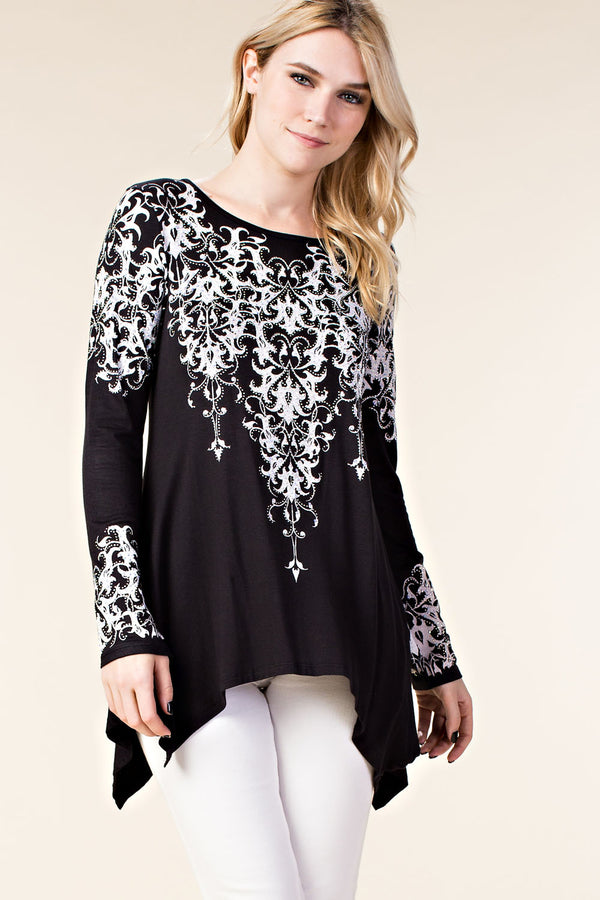 Designer Long Sleeve Top