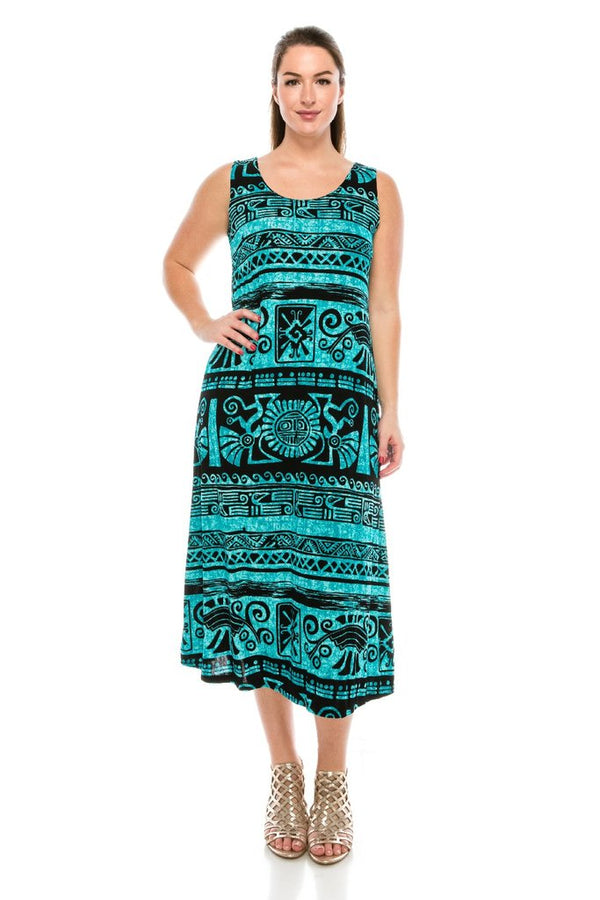 Designer Missy Sleeveless Long Dress