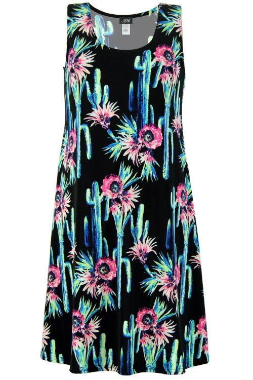 Designer Missy Sleeveless Short Dress