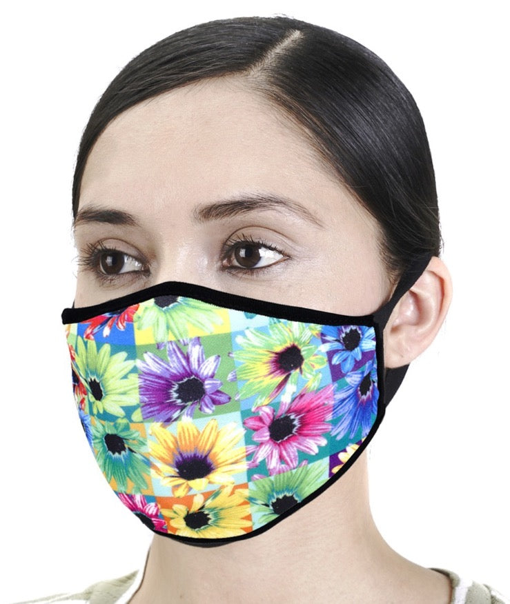 Designer Face Mask - Flower