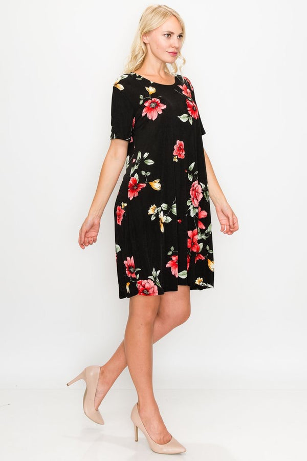 Short Sleeve Missy Dress