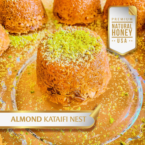 Almond Kataifi Nest