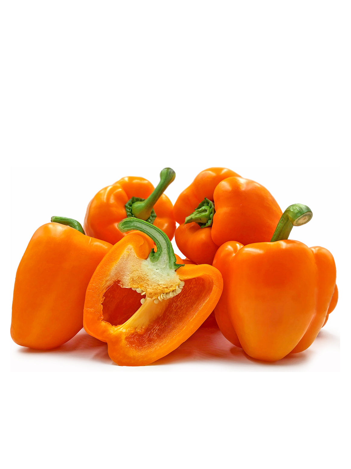 Orange peppers - 2pc