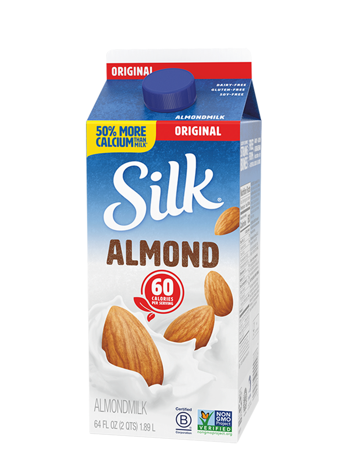 Almond unsweetened silk
