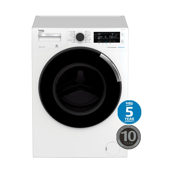 BEKO BFL853ADW 8.5kg Front Loading Washing Machine with Autodose