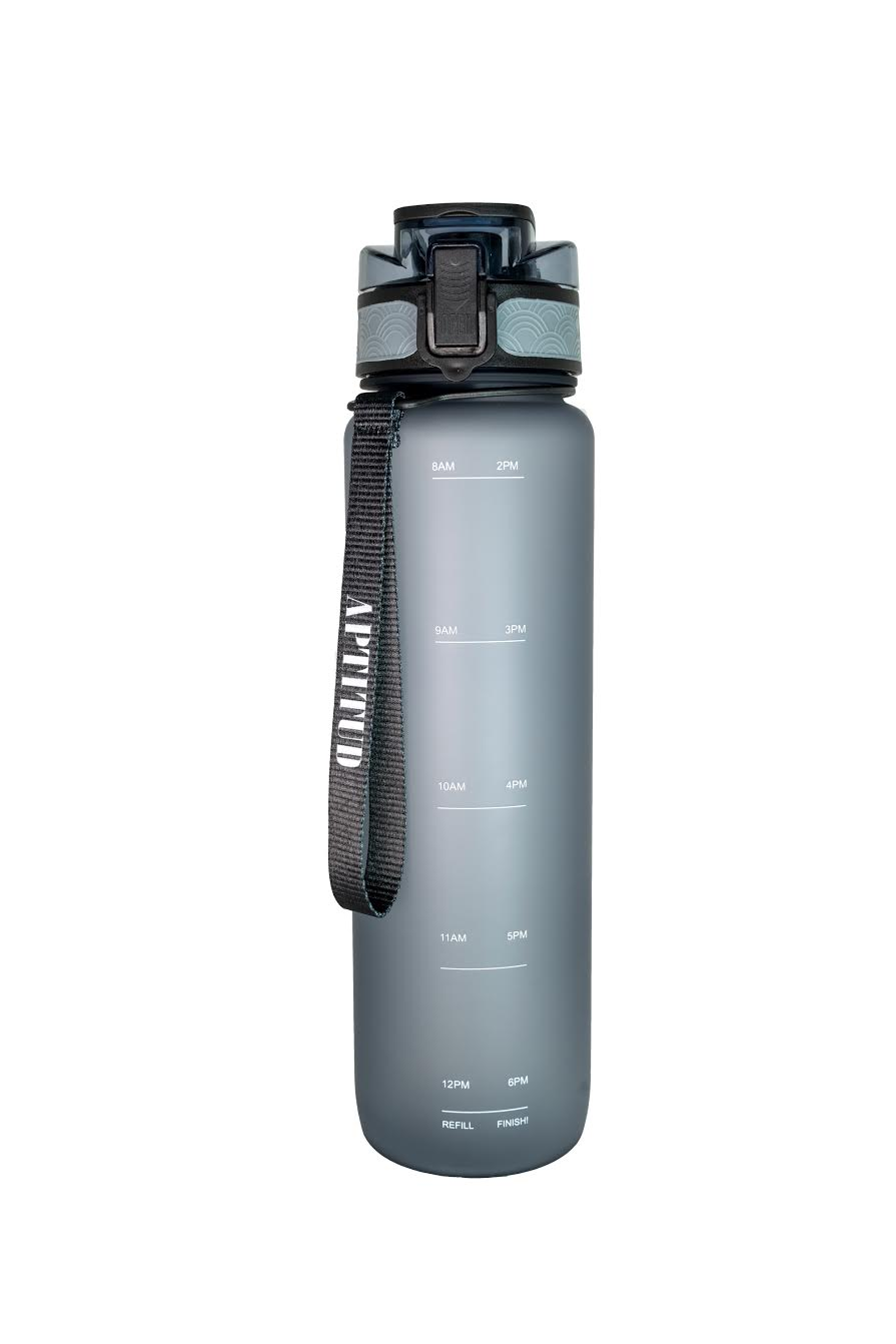 Motivational Water Bottle With Time Marker