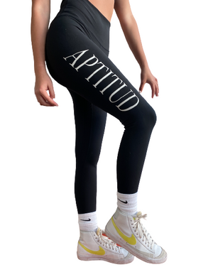 Aptitud Black Leggings