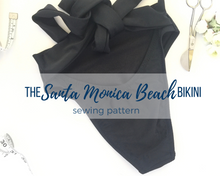 Load image into Gallery viewer, The Santa Monica Beach Bikini Bottom Pattern