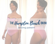 The Hampton Beach Bikini Bottom Pattern