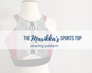 Marikka's Sports Top Sewing Pattern