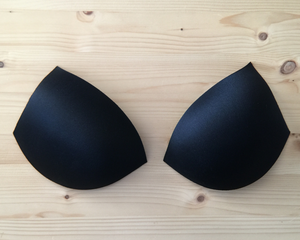 Molded Push-up Bra Cups, 3/4 Coverage