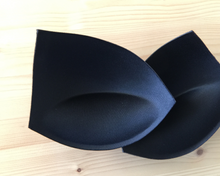 Load image into Gallery viewer, Molded Push-up Bra Cups, 3/4 Coverage