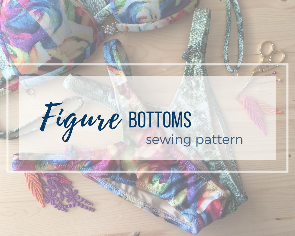 Competition Figure Suit / WPD Sewing Pattern