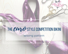 "Load image into Gallery viewer, Wellness Division ""Euro"" Style Competition Bikini Sewing Pattern"