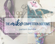 PATTERN BUNDLE: the MIKO Competition Bottoms Patterns