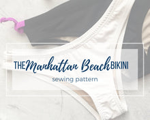 Load image into Gallery viewer, The Manhattan Beach Bikini Bottoms, Athletic Swim Bikini Bottoms PDF Sewing Pattern