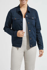 Laurie Denim Jacket in Navy